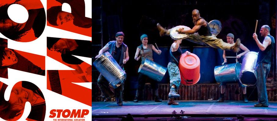Stomp at Lowell Memorial Auditorium