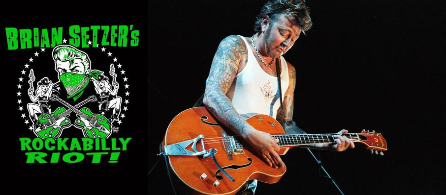 Brian Setzer Orchestra at Boarding House Park