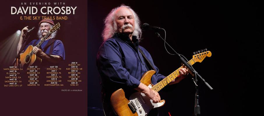 David Crosby at Boarding House Park