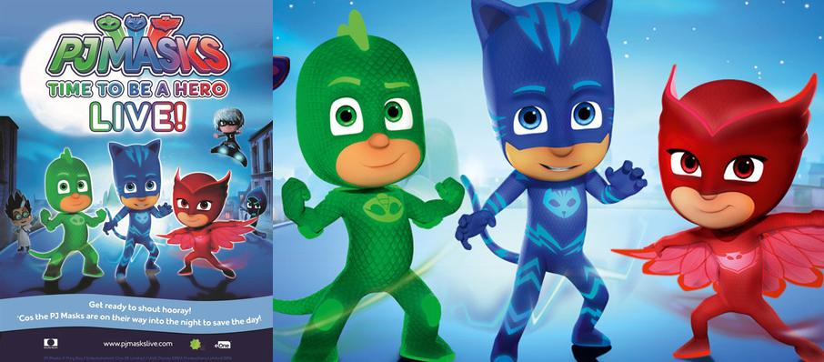 PJ Masks Live! Time To Be A Hero at Lowell Memorial Auditorium