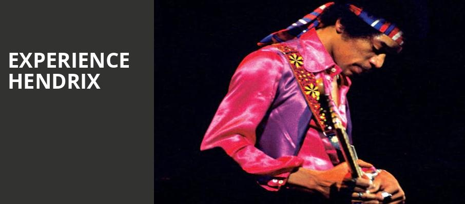 Experience Hendrix, Lowell Memorial Auditorium, Lowell