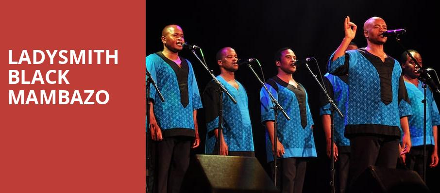 Ladysmith Black Mambazo, Boarding House Park, Lowell