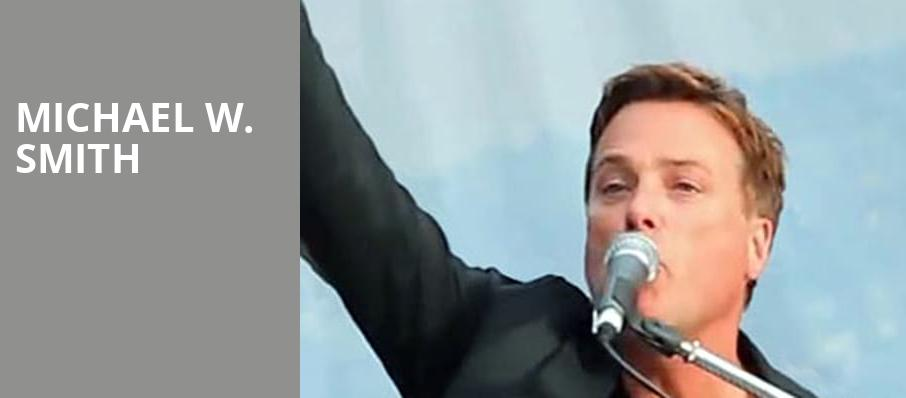 Michael W Smith, Lowell Memorial Auditorium, Lowell