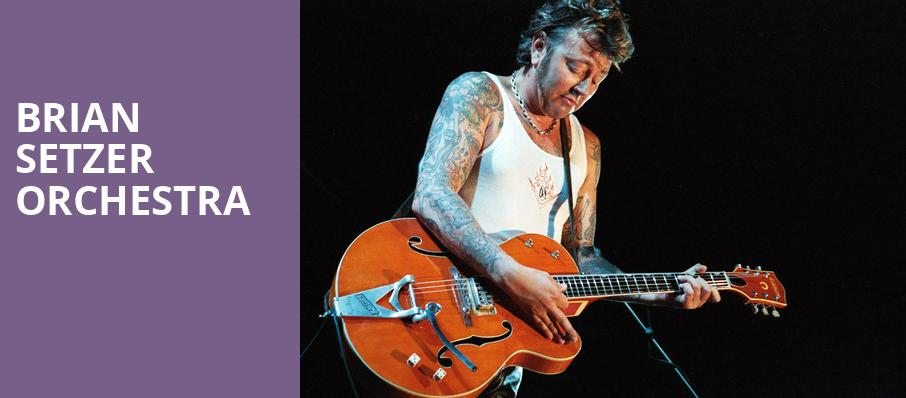 Brian Setzer Orchestra, Boarding House Park, Lowell