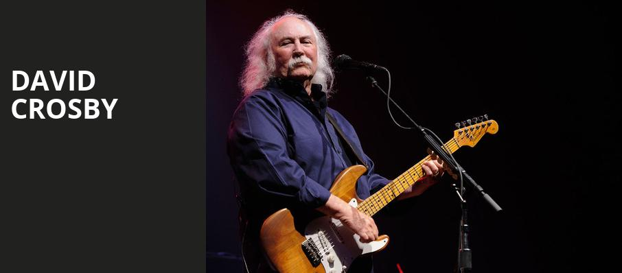 David Crosby, Boarding House Park, Lowell