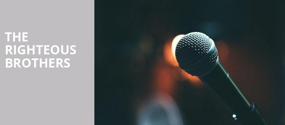 The Righteous Brothers, Lowell Memorial Auditorium, Lowell