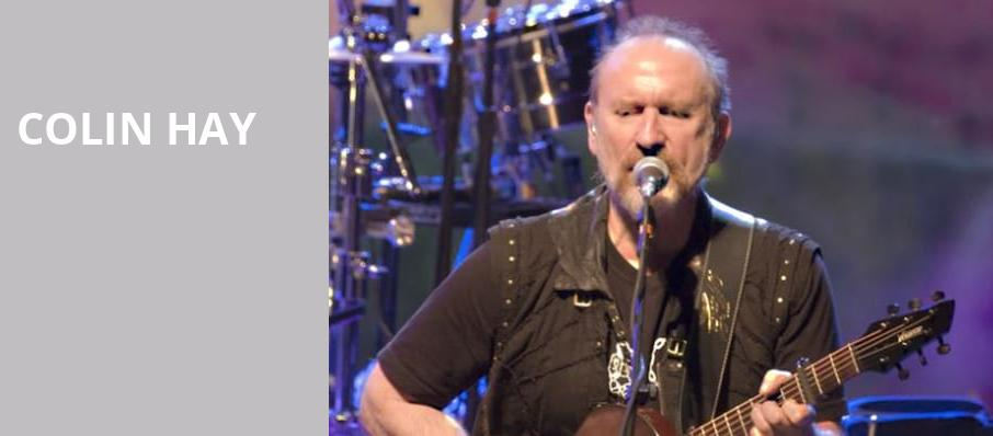 Colin Hay, Boarding House Park, Lowell